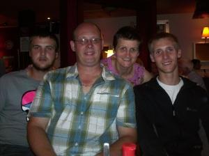 Me, Steve & the boys