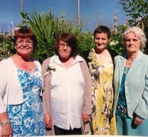 Mum, me & sisters
