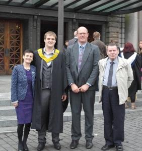 Stuart's graduation
